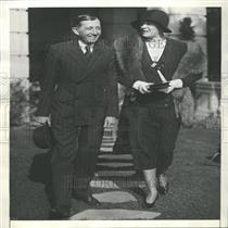 1930 Press Photo Will Hays Wife