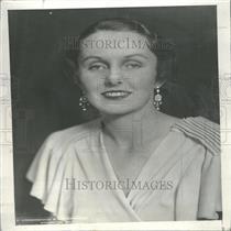 1933 Press Photo Ellen Wilson Daughter William Gibbs