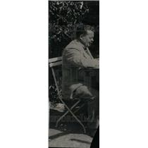1923 Press Photo Friedrich Ebert, President of Germany - RRU25323
