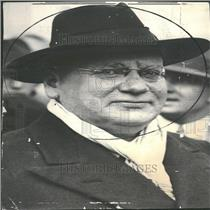 1933 Press Photo Maxim Litvinoff Soviet Commissar