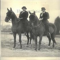 1927 Press Photo  Nancy Lee and Joan Howard