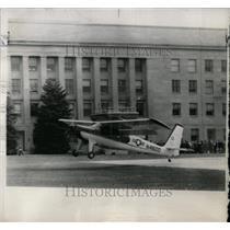 1961 Press Photo L28 Helio-Courrier Takes Off - RRW56957