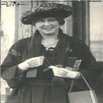 1921 Press Photo Picture of Mrs. Harry E. Huffman.