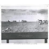 1962 Press Photo Fort Sill Oklahom Artillery Unit