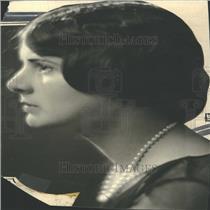1929 Press Photo Elizabeth Trant