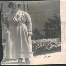 1919 Press Photo Mrs. John T. Towers Wife Comm. Towers