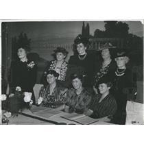 1940 Press Photo Denver Press Council Members Meeting