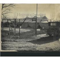 1928 Press Photo Alex Film Co. temporary workshop