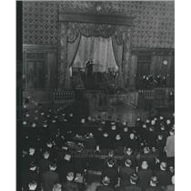 1965 Press Photo Emperor Japan Diet Parliament Address
