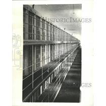 1935 Press Photo San Quentin Scene of Jailbreak