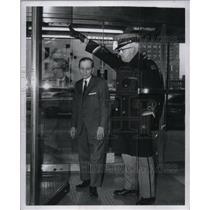 1969 Press Photo Edward T. Graseck and Ralph Simpson - RRW57251