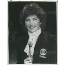 1988 Press Photo Charlsie Cantey (Sportscaster) - RSC71273