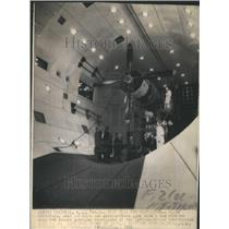 1944 Press Photo Test Cell For Airplane Propellers - RRU80477