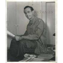1952 Press Photo NORM PANAMA WRITER PRODUCER - RSC50949