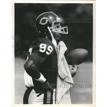 1980 Press Photo James Scott at Bears training Camp - RSC49423