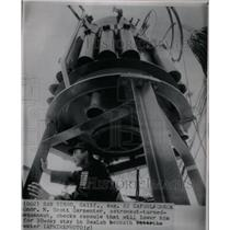 1965 Press Photo Cmdr Scott Carpenter astronaut Sealab - RRX25891
