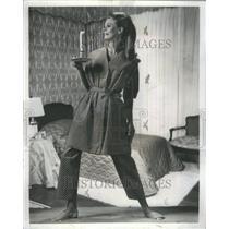 1967 Press Photo Pajama  Reemay slippers Convenient