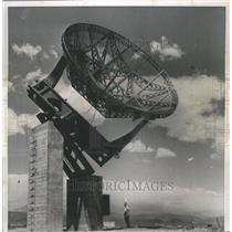1957 Press Photo Telescope Boulder Laboratories Track