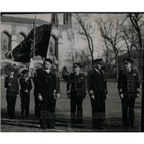 1945 Press Photo Northwestern university naval Gaurd - RRU18427