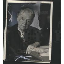 1922 Press Photo Mrs Felton first Woman Senator