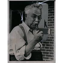 1936 Press Photo Dr. Allan R. Dafoe
