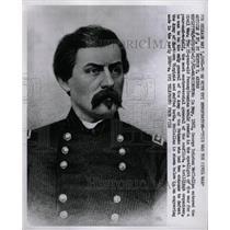 1961 Press Photo George McClellan civil war soldier PA - RRW13063