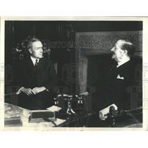 1934 Press Photo Antonio Mosconi Meets Rockefeller Jr., - RRX81041