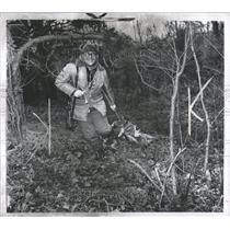 1970 Press Photo Deer Hunting Trapping Areas Michigan - RRX97127