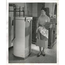 1955 Press Photo A modern water heater - RRW34793