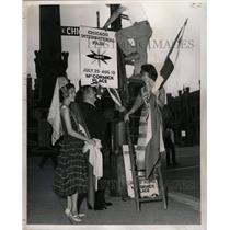 1961 Press Photo Chicago World Trade Center - RRW23807