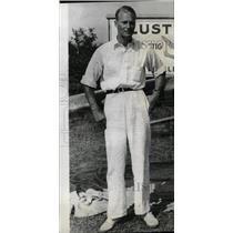1934 Press Photo Aviator Richard C. Dupont - RRW79487