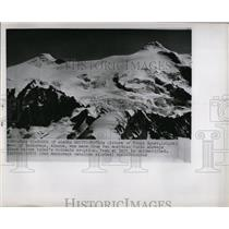 1953 Press Photo Mt. Spurr, Alaska Before Eruption - RRX79265