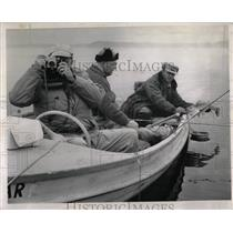 1962 Press Photo Fishermen got Walleye at Detroit Lakes