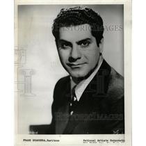 1961 Press Photo Frank Guarrera Opera - RRW19493