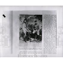 1956 Press Photo Grand Duke Alexis Buffalo Bill Cody - RRW01369