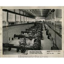 1950 Press Photo Pumps Filtration Plant Cheltenham - RRW66427