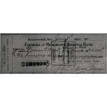 1919 Press Photo Democratic National Convention Check - RRX43821