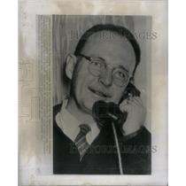 1959 Press Photo Owen Lattimore Atlantic London Airport - RRX33753