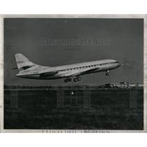 1957 Press Photo French Caravelle Jet - RRW56671