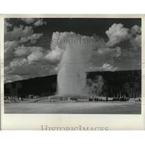 Undated Press Photo Yellowstone Geyser - RRX63827