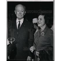 1964 Press Photo Maj. General & Mrs. John F. Curry - RRW19709