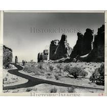1958 Press Photo Utah General metropolitan area Cluster - RRX68493