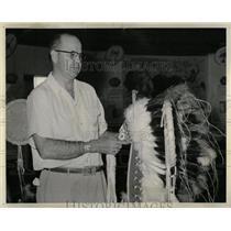 1959 Press Photo Burshears founder troop Scoutmaster - RRW85343
