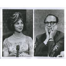 1963 Press Photo Mary Livingstone American Comedian - RRU85707