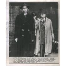 1946 Press Photo Matt Simons Nightingale Canada Spy Roydon Hughes Ottawa