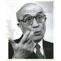 Press Photo Italian Prime Minister Amintore Fanfani Honorary Doctor Loyola