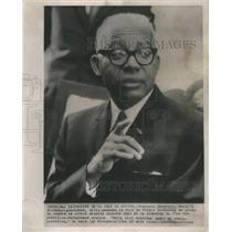 1963 Press Photo Francois Duvalier, Haiti's Dictator-President - RSC81647