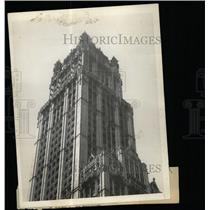Press Photo Woolworth Tower marvel building visitors - RRX65981