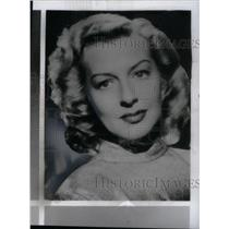 1963 Press Photo Gertrude Michael, Actress - RRX41231
