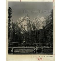 1961 Press Photo Fishing Foliage Grand Teton Wyoming - RRX74113